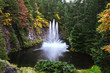 The tremendous fountain in lake - 80849603