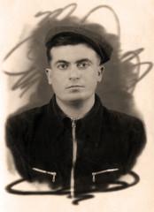Portrait old armenian men