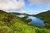 Paisagem da Ilha de Sao Miguel nos Açores