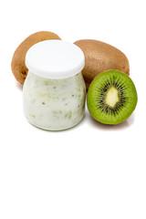 Pot  yaourt  kiwi