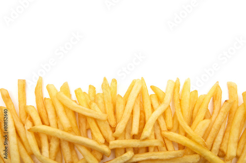 Leinwanddruck Bild French fries