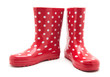 red boots on white - 80853864
