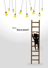 Businessman fall Concept