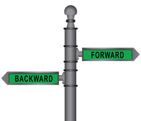 Signpost forward and backward