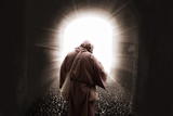 Franciscan missionary walking to god