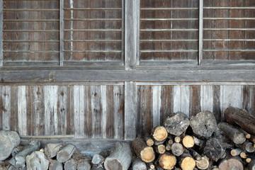日本の古い家屋