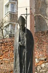 Monument of Pope John Paul II, Krakow, Poland