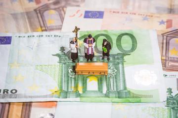 Euro Beerdigung