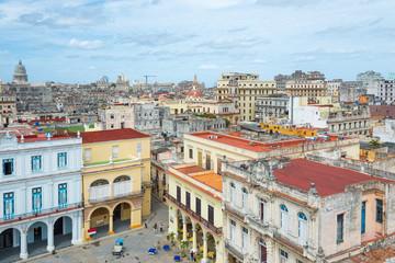 Panoramic view of Old Havana
