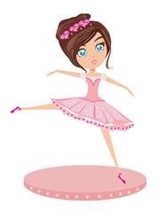 Cute Ballerina girl