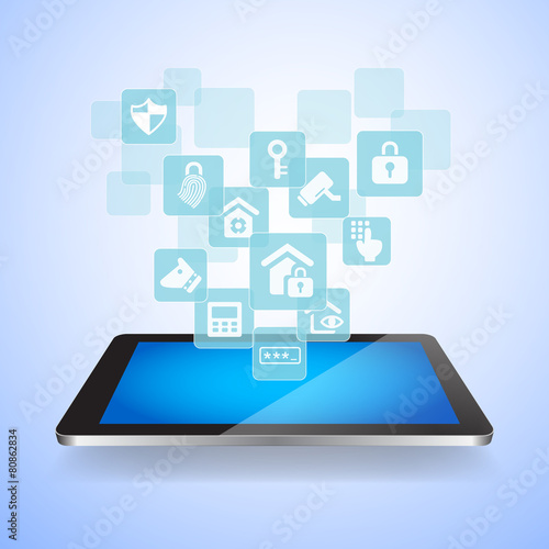 Home security by internet concept - 80862834