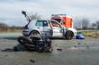 Schwerer Unfall mit Motorrad - 80863293
