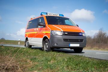 Notarzt - Notarzteinsatzfahrzeug