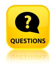 Questions (bubble icon) yellow square button