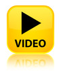 Video yellow square button