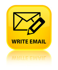 Write email yellow square button