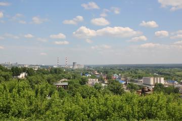 Industrial area in Vladimir