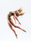 young beautiful modern style dancer