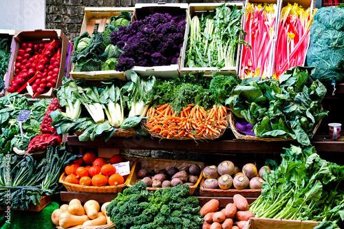 Keuken foto achterwand Boodschappen Green market