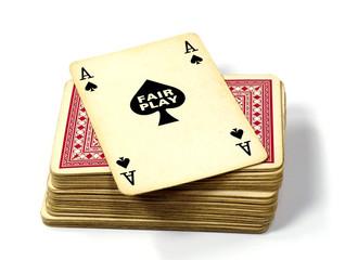 fair play poker ace