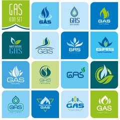 Gas industry symbols
