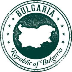 Vintage Bulgaria Stamp