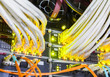 Leinwandbild Motiv rack in the data center