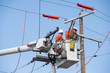 Aerial powerline workers - 80871278