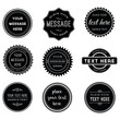 Vector Set of Retro Stamps and Badges - 80871401