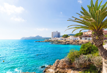 Majorca Cala Ratjada Rajada in Capdepera Mallorca