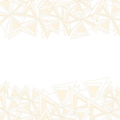 Vector abstract triangles background