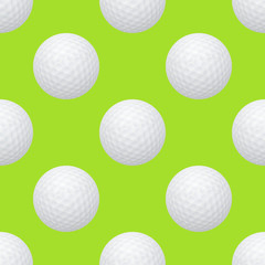 Golf seamless pattern