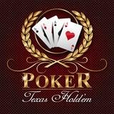 Fototapety Poker Texas logo