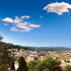 Majorca Capdepera village at  Mallorca Balearics