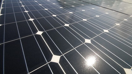 Solar cell - video pan