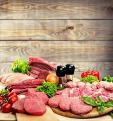 Meat. Fresh meat