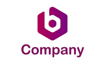 Logo moderno violeta