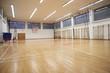 Leinwandbild Motiv school gym