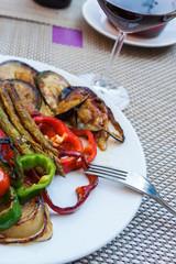 gegrilltes Gemüse in Spanien