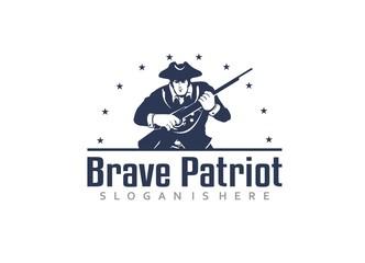 Brave Patriot - Logo Template
