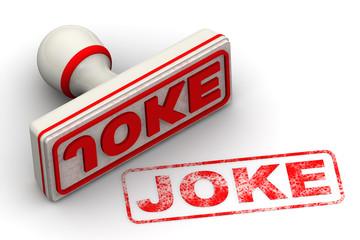 Шутка (Joke). Печать и оттиск