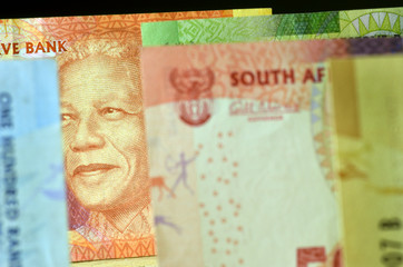 Suid-Afrikaanse rand South African rand sudafricano money Africa