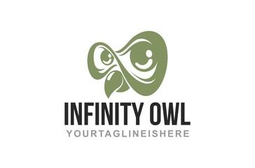 Infinity Owl - Logo Template