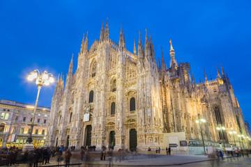 Milan Cathedral, Duomo di Milano, Italy.