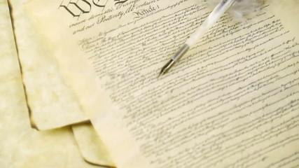 US Constitution Tilt Up