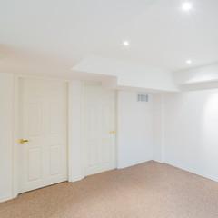 Basement room interior design