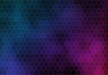 Pattern of geometric shapes for web design