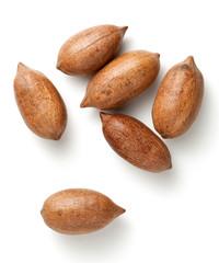 Pecan nuts in nutshells