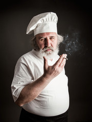 Grumpy old chef