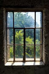 Dirty window overlook